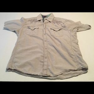 Roper Wear the West Embroider Button Down Large
